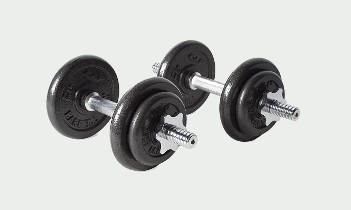CAP Barbell 40-Pound Adjustable Dumbbells