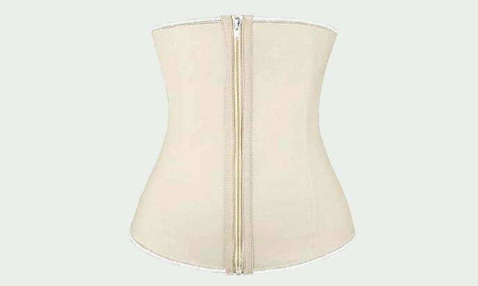Charmian Women's Latex Underbust Waist Training Steel Boned Shapewear Corset