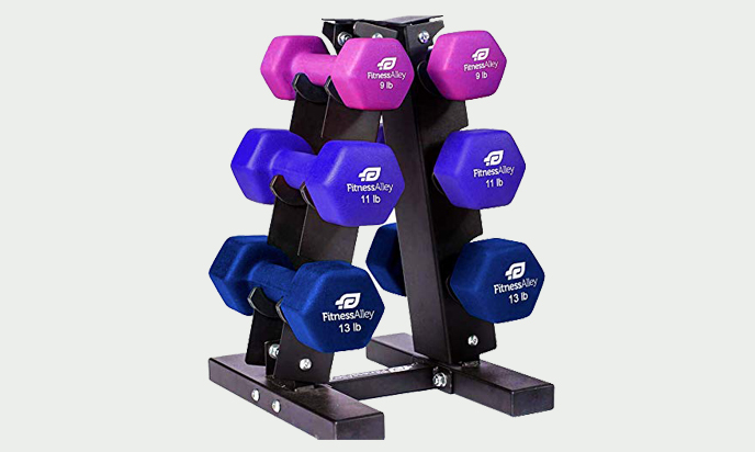 Fitness Alley Neoprene Dumbbells Set