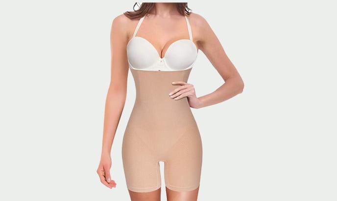 Nobility Women Waist Trainer Shapewear Tummy Control- Best Body Shapers for Dresses