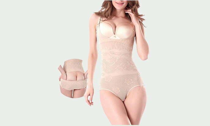 OLIKEME Women's Shapewear, Adjustable Tummy Control Waist Shaper - best tummy control shapewear