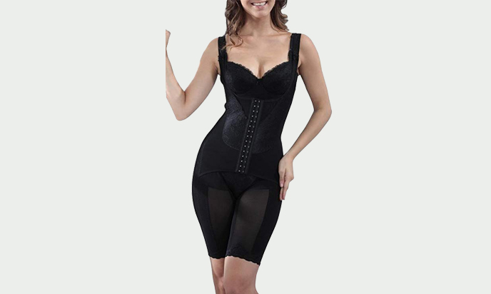 Supplim Women's Body Shaper Waist Cincher Underbust Corset