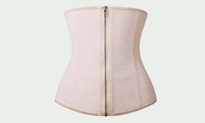 Yianna Latex Waist Training Corsets and Hourglass Body Shaper