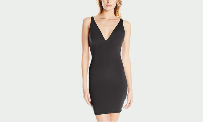 Yummie Women's Sheer and Smooth Noel Plunge Slip