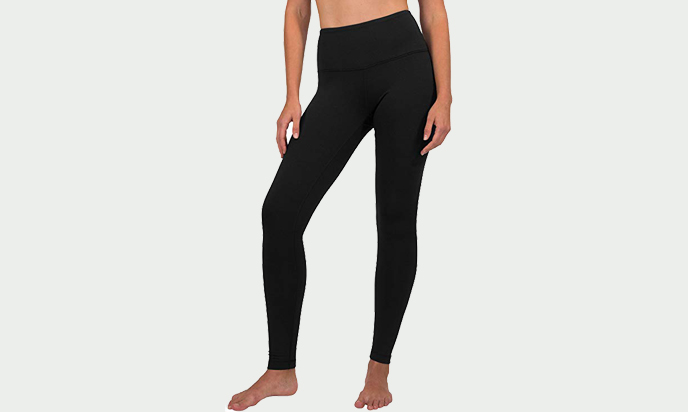 90 Degree By Reflex High Waist Fleece Lined Leggings