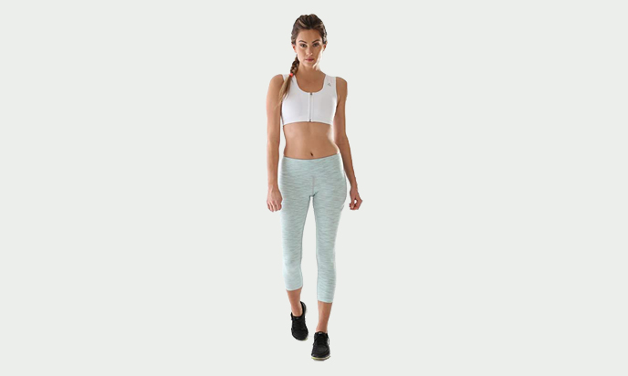 ALIGNMED Mid-Calf Capri Yoga Pants