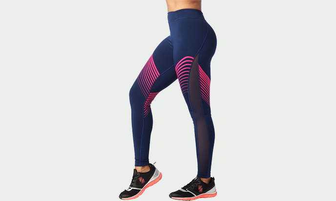 STRONG by Zumba High Waisted Compression High Waisted Workout Leggings