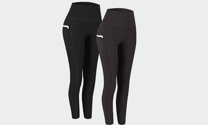 Fengbay High Waist Yoga Pants with Pockets