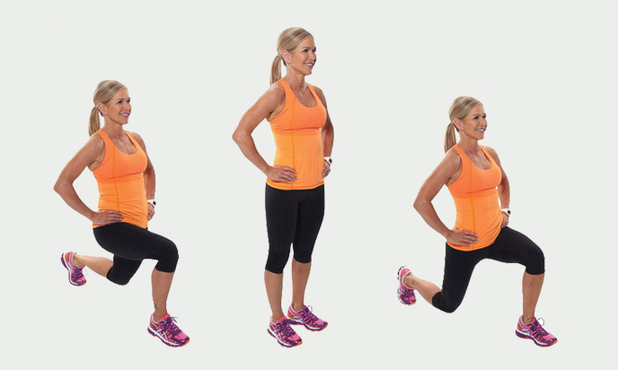 different Forward Lunges