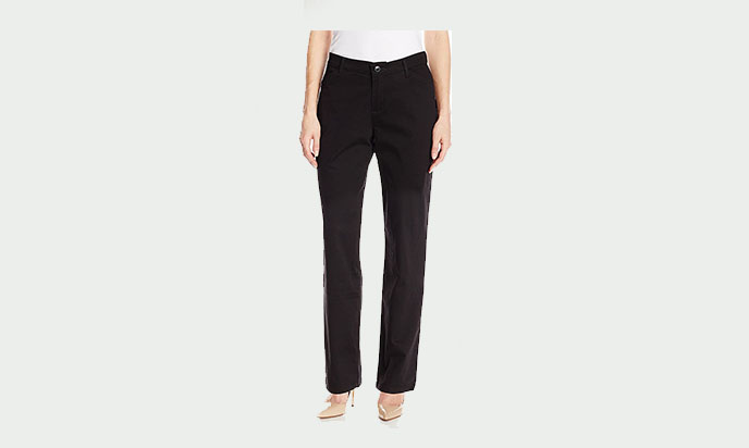 Lee Women's Relaxed Fit All Day Straight Leg Pant a