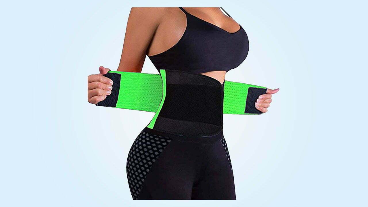 1.VENUZOR Waist Trainer Belt for Women - Waist Cincher Trimmer