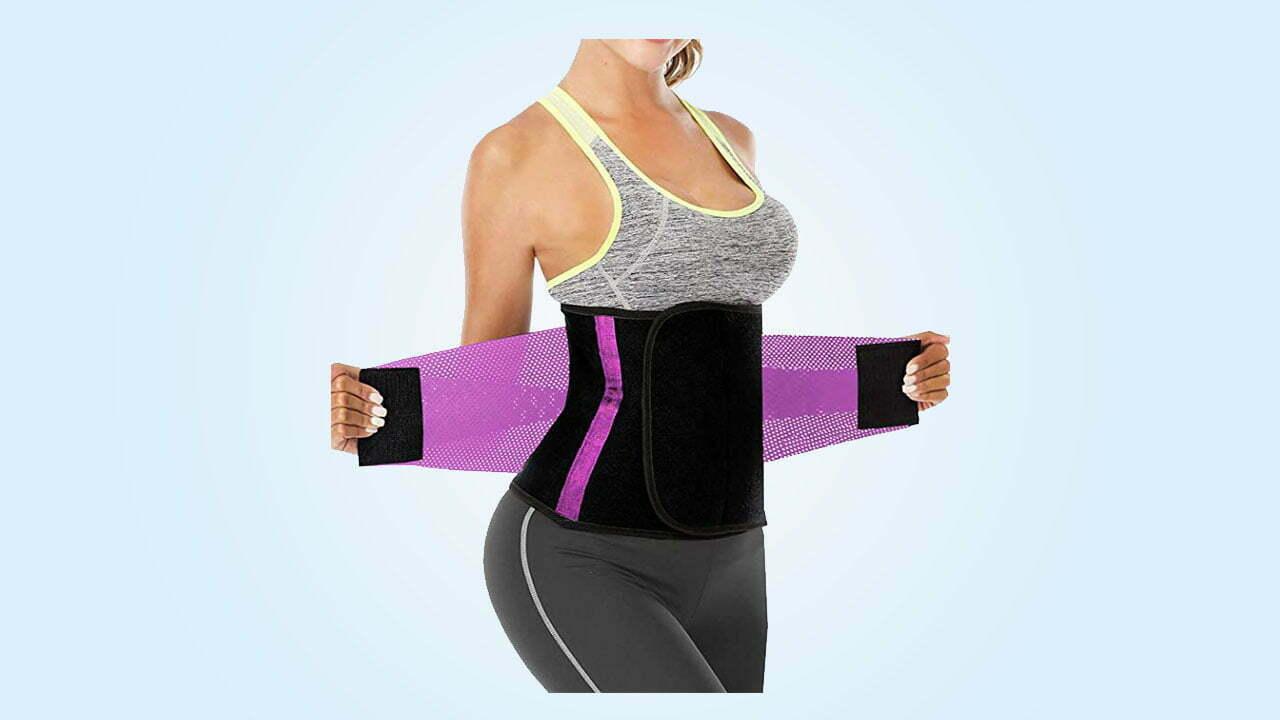 3.Waist Trainer Women - Waist Cincher Trimmer