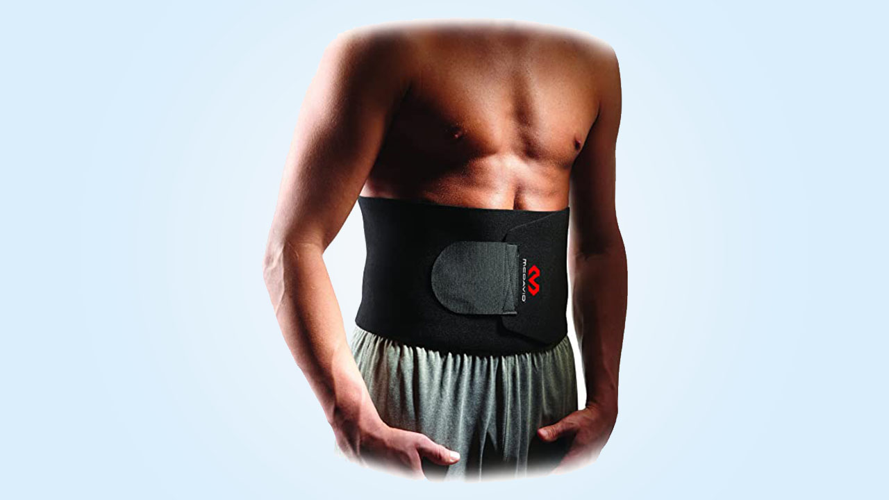 5.Mcdavid Waist Trimmer Belt, Waist Trainer, Promotes SWEAT & WEIGHT LOSS in Mid-Section, Sold as Single unit