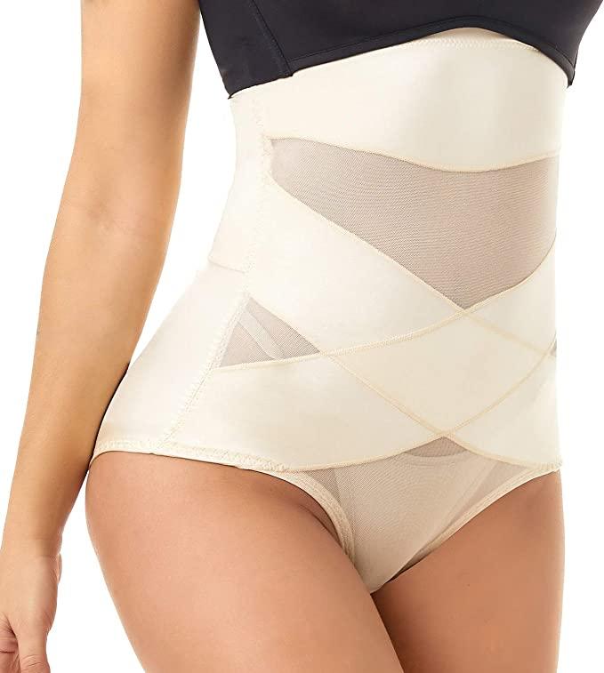 COHTB Women's Tummy Control Body Shaper-best shapewear for plus-size women