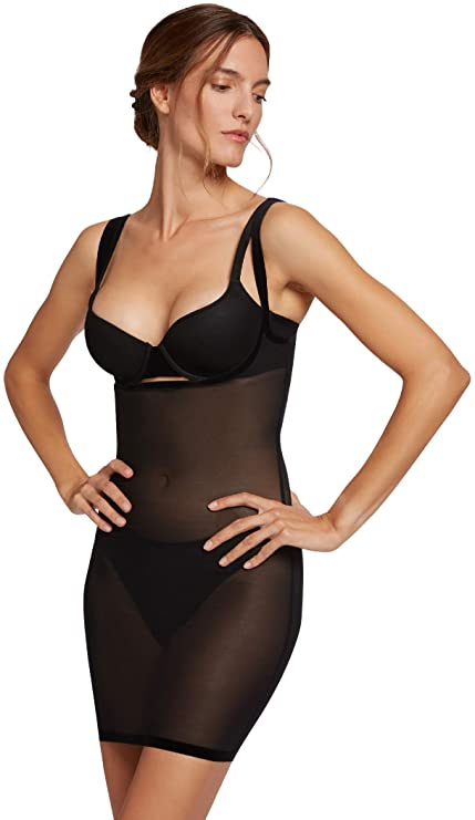 Wolford Women's Tulle Forming Dress - best shapewear for plus-size brides